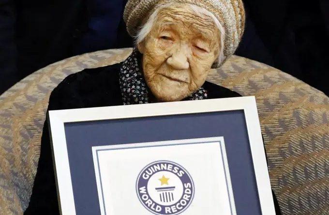 Tanaka Kane mais idosa do mundo